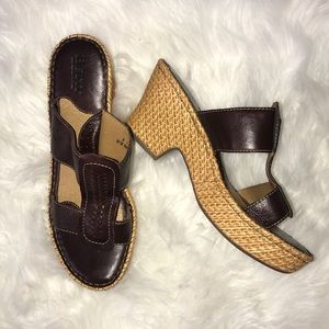 Born Brown Sandals Size 9 / 40.5 New without Tags
